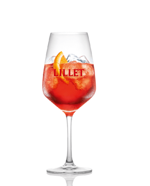 cocktail lillet rouge tonic
